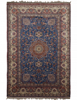 Parsa Collection -Massoumeh Red Blue Persian Rug